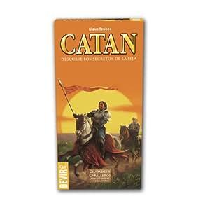 Catan Devir, expansión Ciudades y Caballeros (BGCIU56) - Ampliación para 5 y 6 jugadores