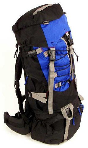 7000 Cubic Inch Blue Alpine Trekking/ Hiking/ Climbing/ Camping Backpack, Outdoor Stuffs