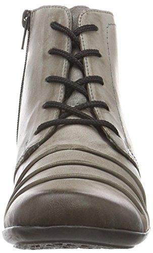 Gris para Remonte D7387 Cigar Altsilber Mujer Botas Grau Chukka qz4v4Xt
