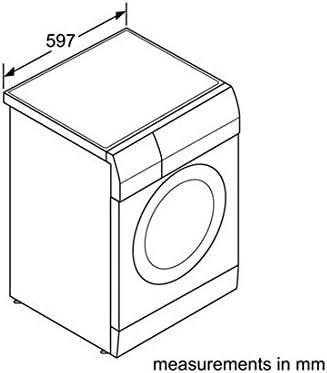 Bosch Avantixx 7/4 WVH28441NL Independiente Carga frontal B Blanco ...