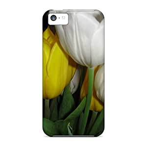 Iphone 5c Hard Back With Bumper Cases Covers Bunch Of Light