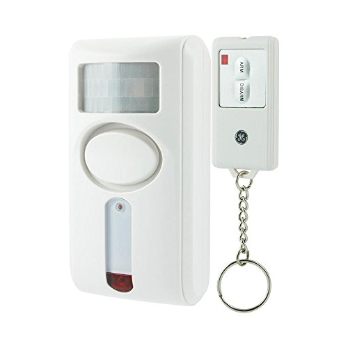 GE Wireless Remote Controlled Indoor Motion-Sensing Alarm