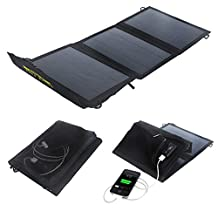 I-Solar 10w Electronics Camping Portable Solar Charger Bag Solar Foldable Solar Panel Power USB Battery Charger for Mobile Phones, Iphone 6/6plus 5/5s 4/4s Samsung Glaxy S5/s4/s3,note 3 Note 2,ipad,ipod and Digital Devices