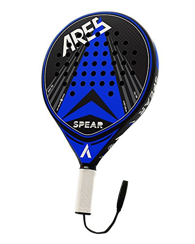Vibor-A Padel Ares Spear Blade Unisex Adult, Blue, One Size Fiberglass Rotor Blades