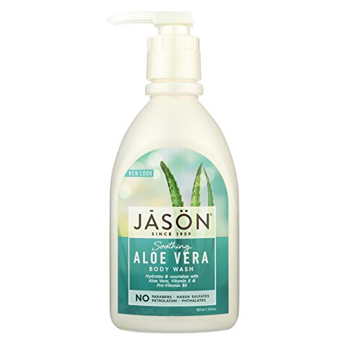 - Jason Body Wash Soothing Aloe Vera Pure Natural - 30 fl oz