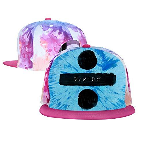 Top Level Divide Love_Sheeran Baseball Hat Unisex Sports Adjustable Plain Cap Hip-Hop Hat for Kids/Men/Women Pink