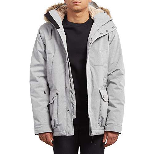 Parka Light Volcom Grey Homme Lidward 80qWHw5B