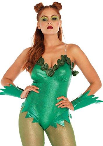 Leg Avenue Womens 5-Piece Sexy Pretty Poison Costume