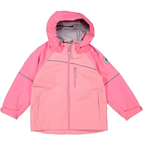 Polarn O. Pyret Shell Jacket (2-6YRS) - Pink Lemonade/4-5 Years by Polarn O. Pyret