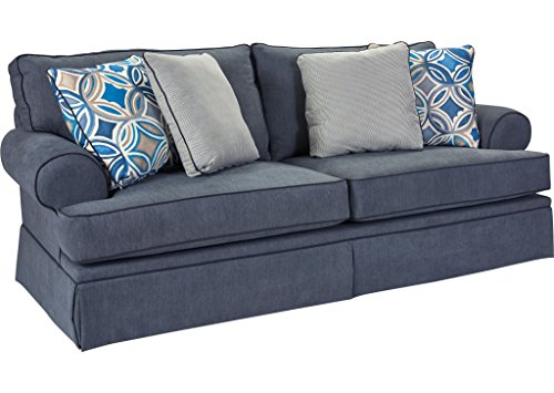 amazon com broyhill 6262 3q3 emily sofas blue kitchen dining