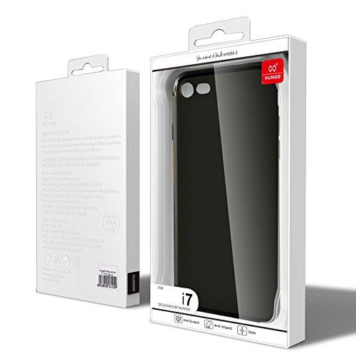 """iPhone 7 und 8 Hülle, XUNDD Jane Series Hülle für iPhone 7 und 8 [4,7""""/11,94 cm] , [Soft TPU Case], [Schutzhülle], [ Matt Schwarz ]"""