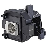 QueenYii ELPLP69 Compatible for EPSON EH-TW9200 Replacement Projector Lamp with bulb inside