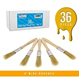 US Art Supply 36 Pack of 1/2 inch Paint and Chip