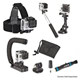 Sunpak Action Camera Accessory kit, 7-in-1, MAKE YOUR LIVE ACTION LIVE
