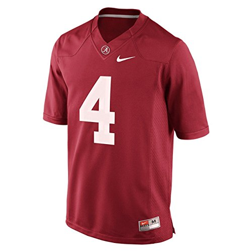 Tide Youth Game #4 Crimson Football Jersey Team Sports (L=16-18) ()