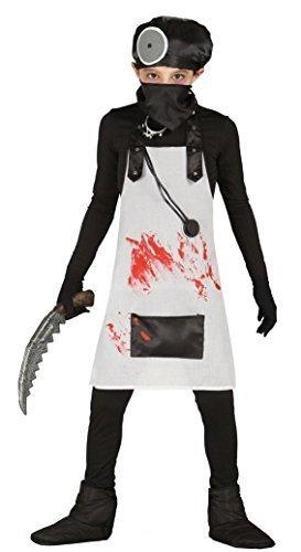 Boys Evil Doctor Bloody Surgeon Halloween Murderous Torturer