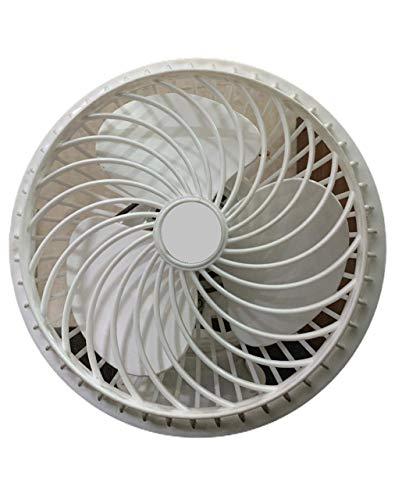 Babrock || Cabin Fan || Office Fan || 9 Inches || 100%Copper Winding || High Speed ||1 Season Warranty || White || AS3542