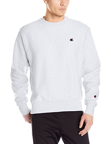 Champion LIFE Men's Reverse Weave Sweatshirt, Silver/Gray, Small