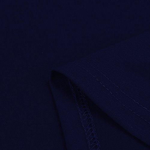 Maniche Tank Tops Premaman Senza Maternità Canotte Marina Abbigliamento T Classico Increspato Topgrowth Lato Militare Donna Shirt zwHa7qS