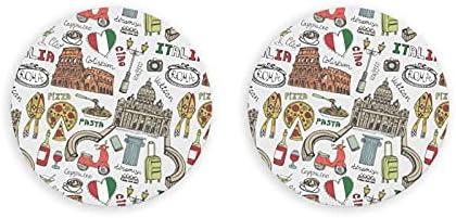 Abrebotellas, arte italiano de Roma, imán para nevera, abridor de botellas de cerveza, imán de cocina, sacacorchos, 2 piezas