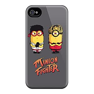 Hot Design Premium DFW9334MUlt Cases Covers Iphone 6 Protection Cases(minion Fighter)