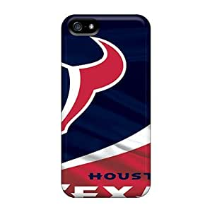 Hard Plastic Iphone 5/5s Cases Back Covers,hot Houston Texans Cases At Perfect Customized hjbrhga1544