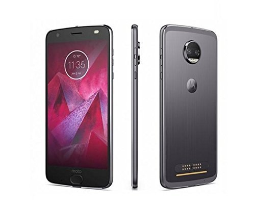 Motorola Moto Z2 Force XT1789 64GB Lunar Gray T-Mobile (Renewed)