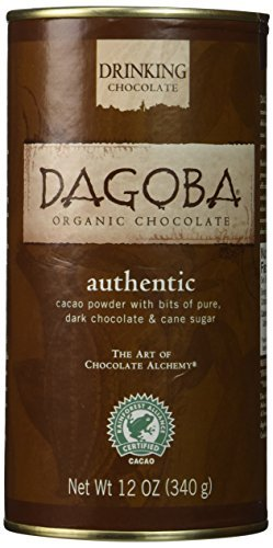 DAGOBA Organic Drinking Chocolate, 12 Ounce