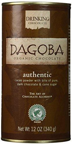 Organic Drinking Chocolate - DAGOBA Organic Drinking Chocolate, 12 Ounce