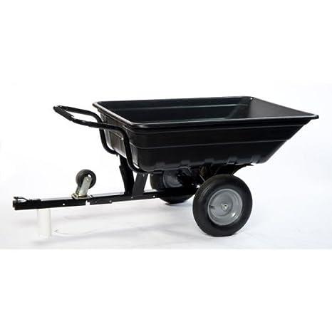LawnBoss: TURFMASTER, remolque / carretilla basculante para tractor, cortacésped o quad (250