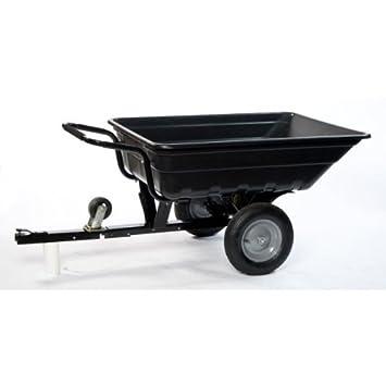 Remorque Brouette Basculante pour Tracteur Tondeuse dp BAAS