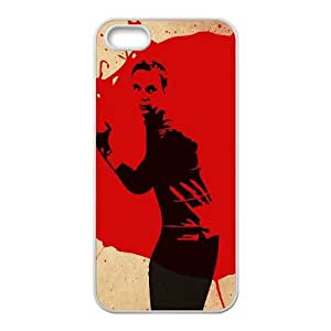 Bazinga iPhone 5 5s Cell Phone Case White MUS9157215