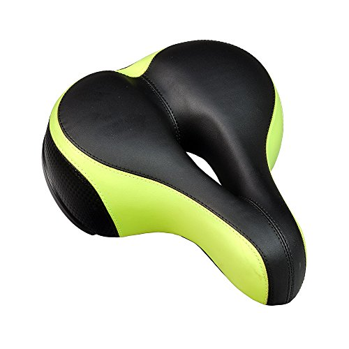 Monster Cruiser - Monster Motion Anatomic Relief Cruiser Saddle Seat for Bikes & Scooters (Green)
