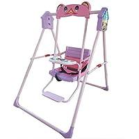 Indoor/Home/Garden/Outdoor Steel and Iron Swing Chair for Babies (Multicolour)