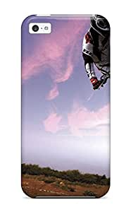 Sarah deas's Shop Hot 3999624K40621806 Premium Iphone 5c Case - Protective Skin - High Quality For Motocross Bike In Sky