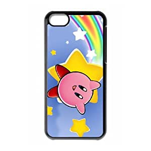 Kirby iPhone 5c Cell Phone Case Black Phone cover M8849355