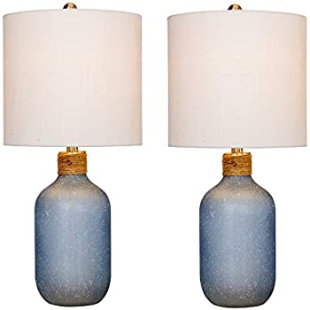 Cory Martin W-5157BL Table Lamp 19.5 Frosted Blue
