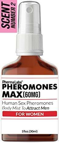 Attract MEN! Human Pheromone Body Mist 60mg (Pheromones MAX) Most Potent Formula - Female LIBIDO