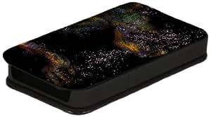Diabloskinz L0026-0010-0005 - Funda de piel con tapa para iPhone 4 y 4S, diseño de pétalos en el aire