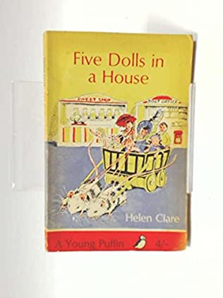 book cover of Five Dolls in a House