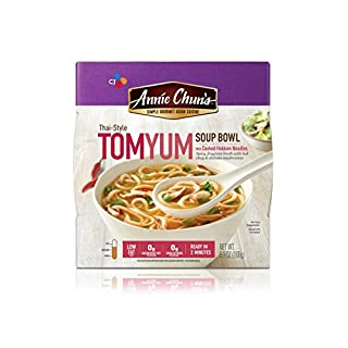 Annie Chun's Tom Yum Soup Bowl with Hokkien Noodles, Thai-Style, 5.9-oz (Pack of 6)