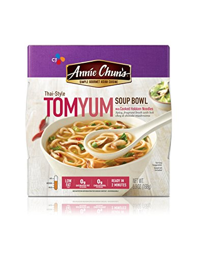 - Annie Chun's Tom Yum Soup Bowl with Hokkien Noodles, Thai-Style, 5.9-oz (Pack of 6)
