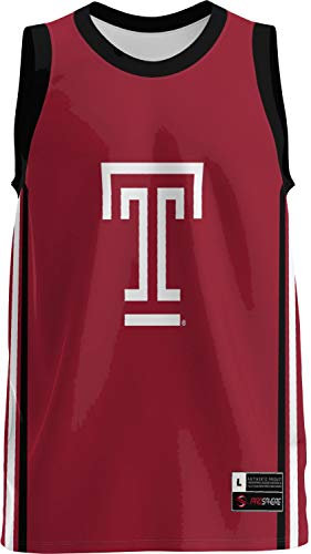 ProSphere Temple University Men's Basketball Jersey (Classic) FFA8 (Large)