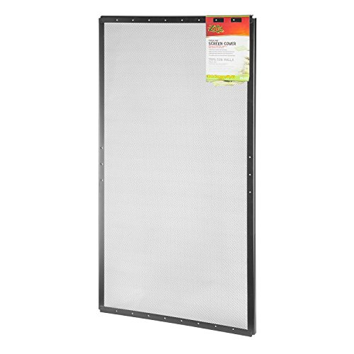 Metal Screen Cover - Zilla Reptile Terrarium Covers Fresh Air Screen, 36x18-inch