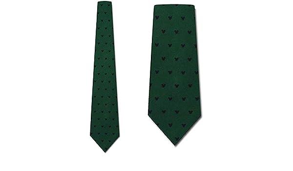 Disney Mickey Mouse Green Tie - Corbatas de dibujos animados para ...