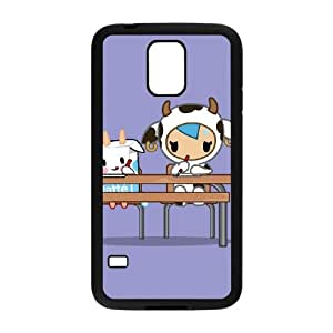 tokidoki test Samsung Galaxy S5 Cell Phone Case Black PSOC6002625572959