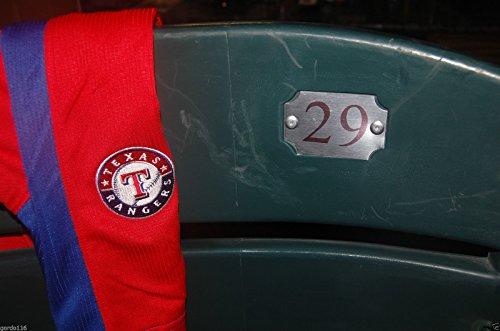 TEXAS RANGERS #29 Seatback Beltre Greer BALLPARK ARLINGTON Stadium Chair Back