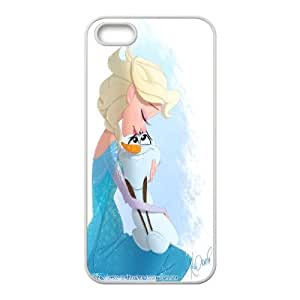 [StephenRomo] For Apple Iphone 5 5S -Frozen Forever and Snow Man PHONE CASE 14