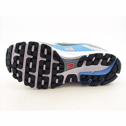 Nike Wmns Air Pegasus + 27–Scarpe Jogging, Mtlc Pltnm/DRK GRY Unvrsty Blue, Donna