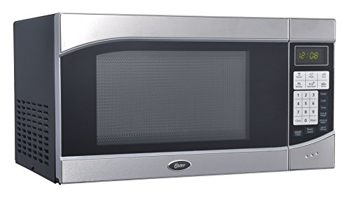 Oster OGH6901 0.9 Cubic Feet 900-Watt Countertop Digital Microwave Oven, Stainless Steel/Black (Oster Small Digital Oven compare prices)